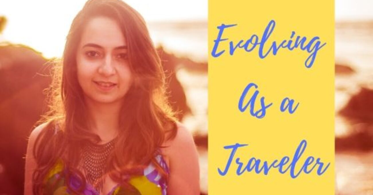 Evolving as a traveler